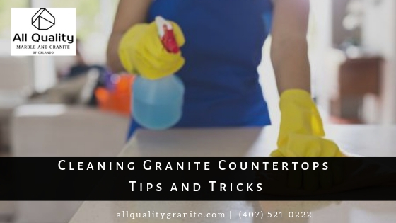 Cleaning Granite Countertops Tips and Tricks
