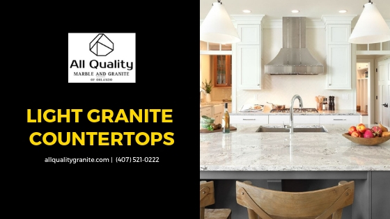 How to Design with Light Granite Countertops