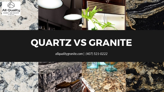 Quartz vs. Granite What you need to know