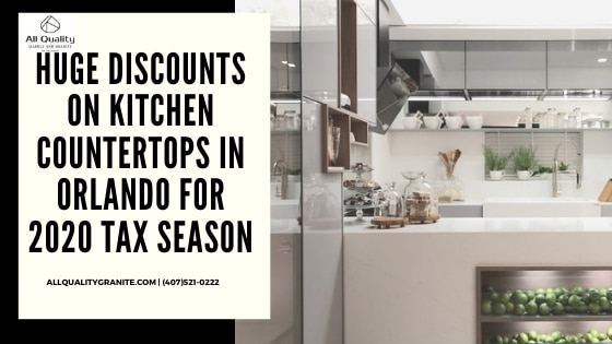 discounts on kitchen countertops in Orlando