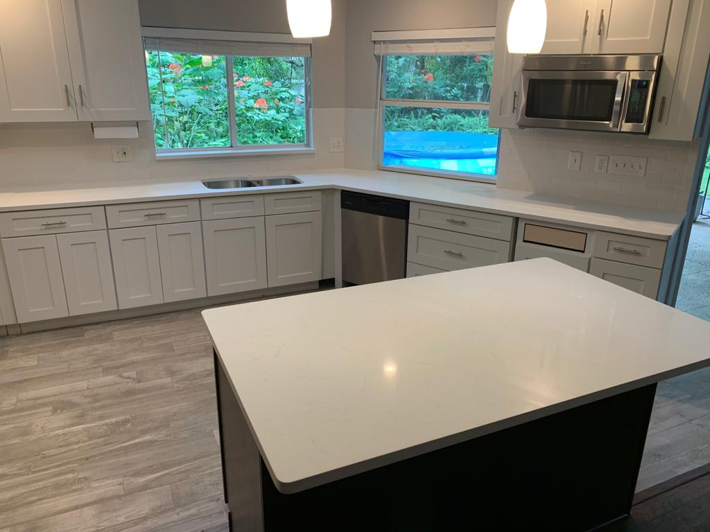 Rachel Knight Bianco Carrara Quartz