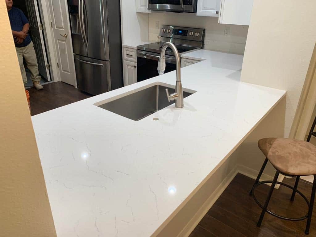 Rich Johnson - Bianco Carrara Quartz