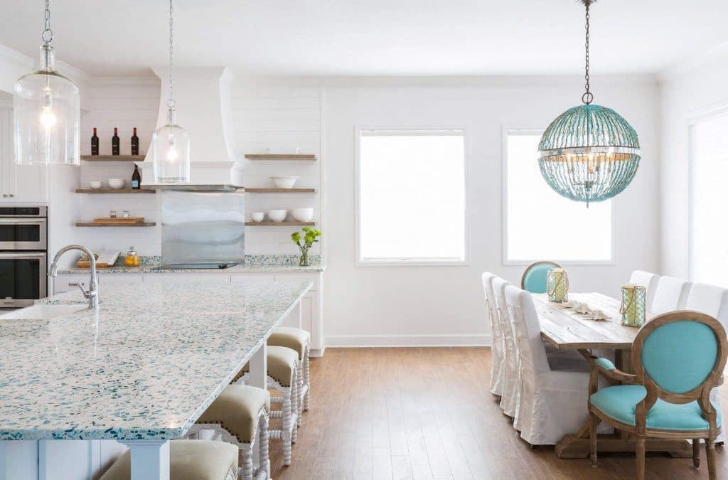 Recycled Glass Countertops in Orlando